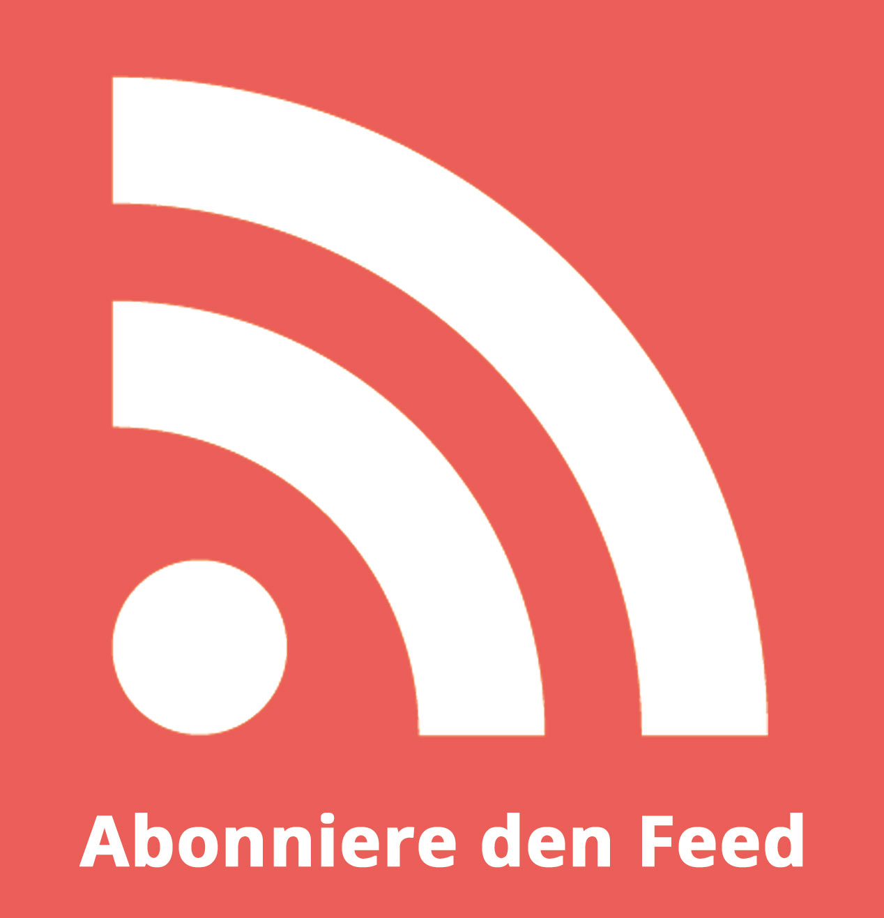 Alle Beiträge per Feed